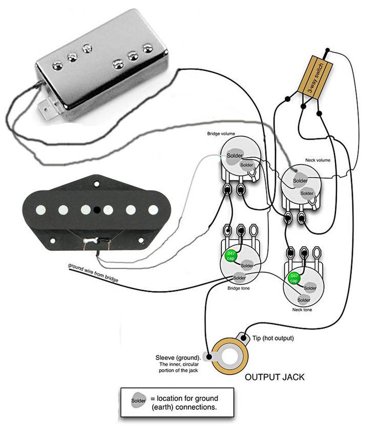 Wiring for Tele Custom | Надо купить в 2019 г