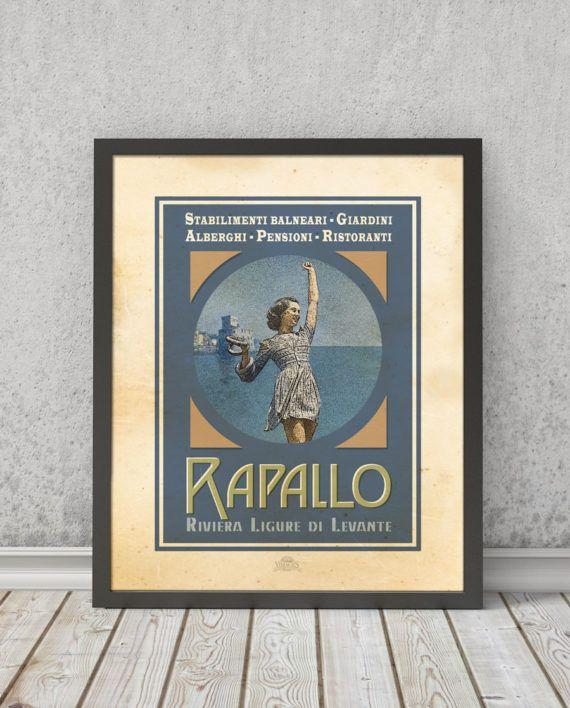 Rapallo | STAMPA | Vimages - Immagini Originali in stile Vintage