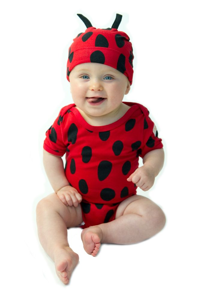 2pc short sleeve set - Ladybug