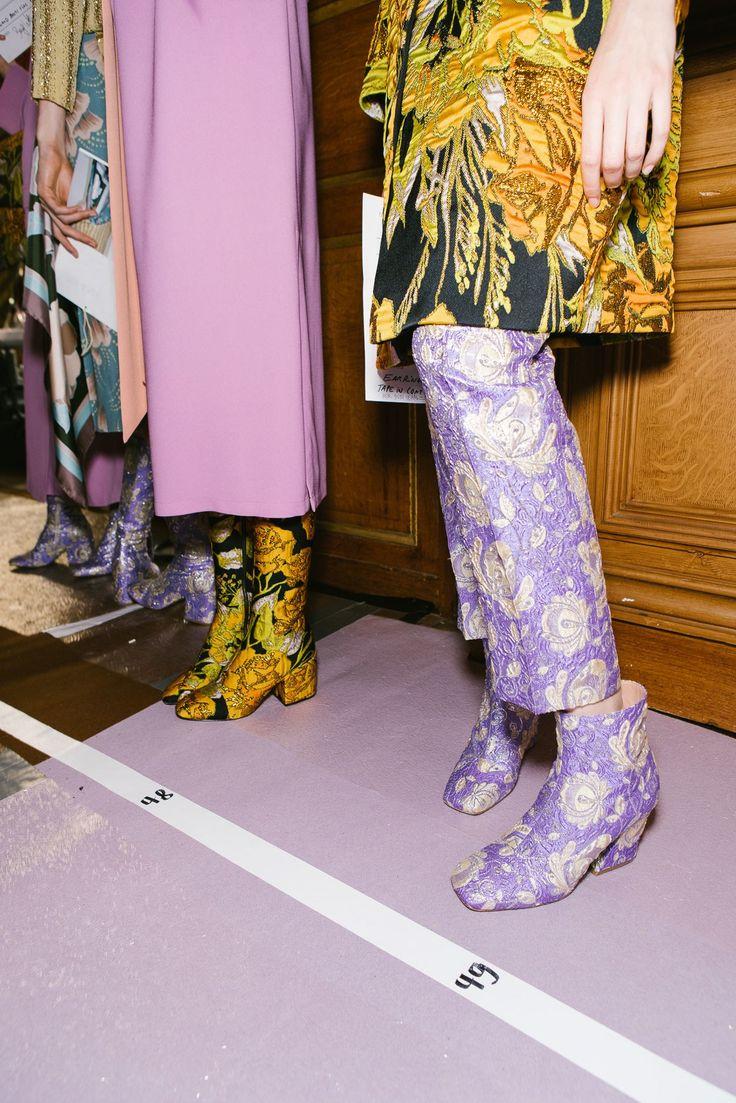 Go Behind the Scenes at Paris Fashion Week Spring '18