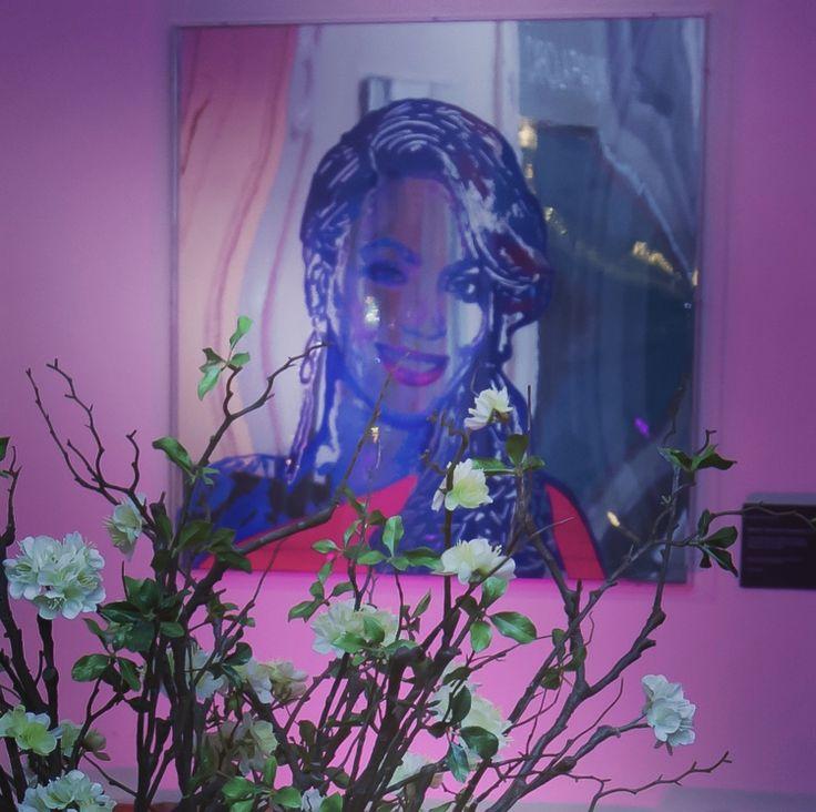 Happy Reflection Portrait™ Beyonce Reflection of Femininity