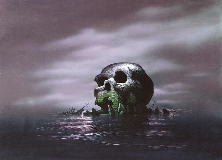 Skull Rock from Walt Disney's Peter Pan (1953)