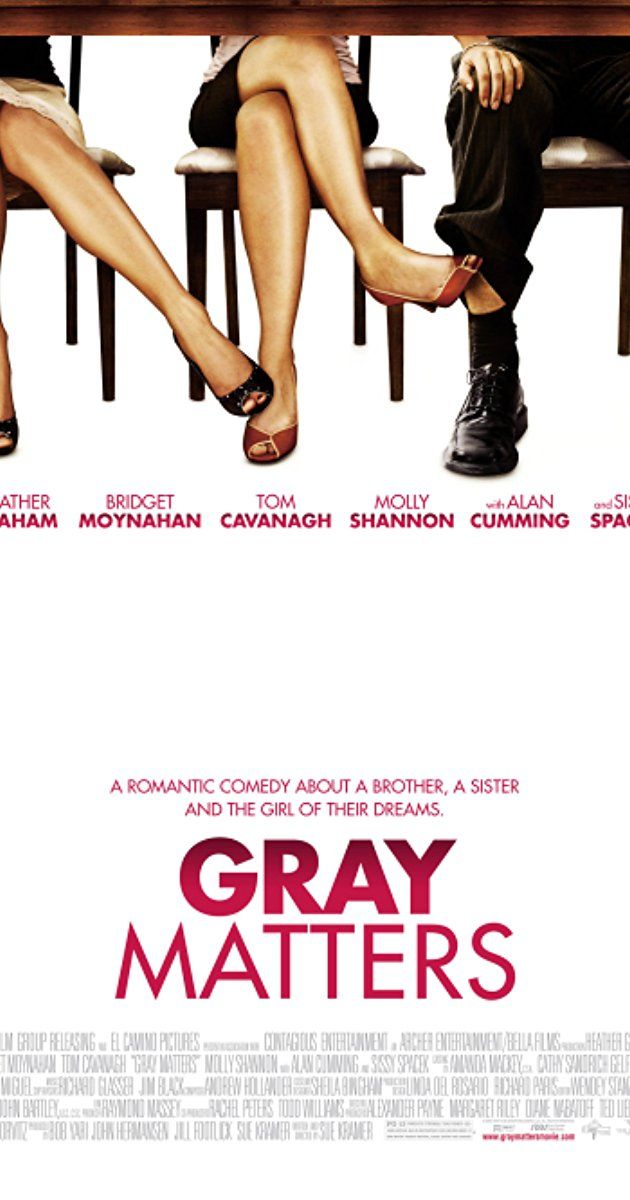 Directed by Sue Kramer. With Heather Graham, Tom Cavanagh, Bridget Moynahan, Molly Shannon. They finish each other's sentences, dance like Fred and Ginger, and share the same downtown loft--the perfect couple? Not exactly. Gray and Sam, are a sister and brother so compatible and inseparable that people actually assume they are dating. Mortified, they both agree they must branch out and start searching for love. He'll look for a guy for her and she'll look for a gal for him.
