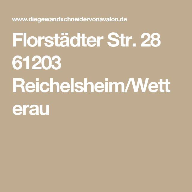 Florstädter Str. 28 61203 Reichelsheim/Wetterau