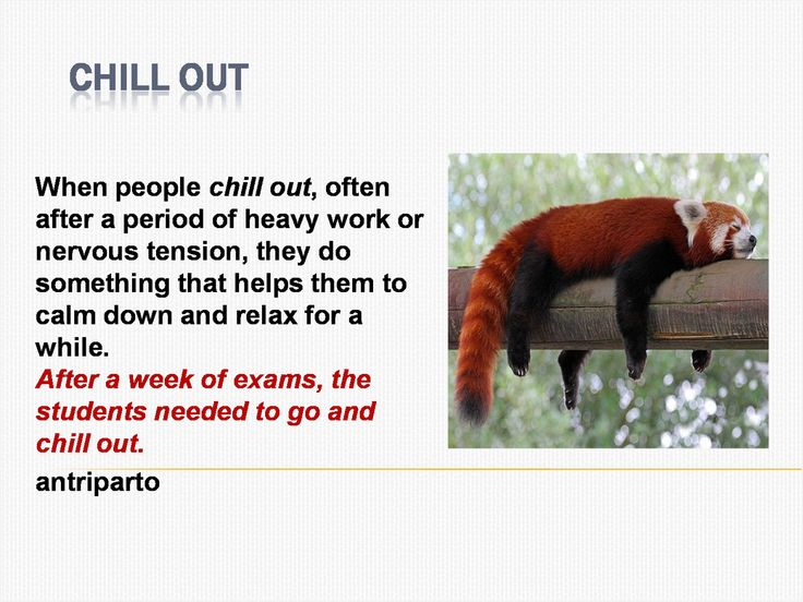 Are you going to 'chill out' this summer? #learnenglish