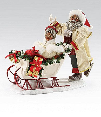 134 Best African American Black Santas And Ornaments