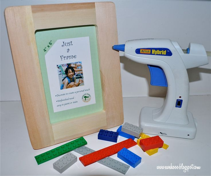 Ewe hooo easy lego party crafts lego party pinterest for Easy photo frame craft
