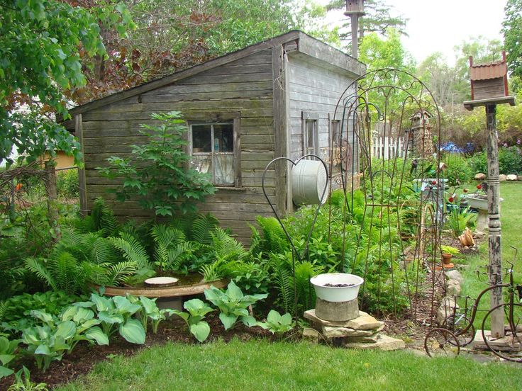 17 best ideas about rustic shed on pinterest outdoor for Garden potting sheds designs