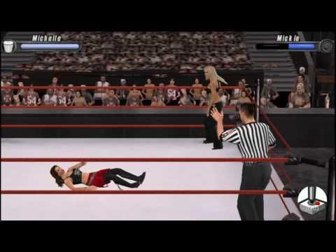 WWE Smackdown vs. Raw 2008: Michelle McCool vs. Mickie James