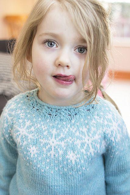 Ravelry: Project Gallery for Frozen sweater pattern by Steinunn Birna Gudjonsdottir