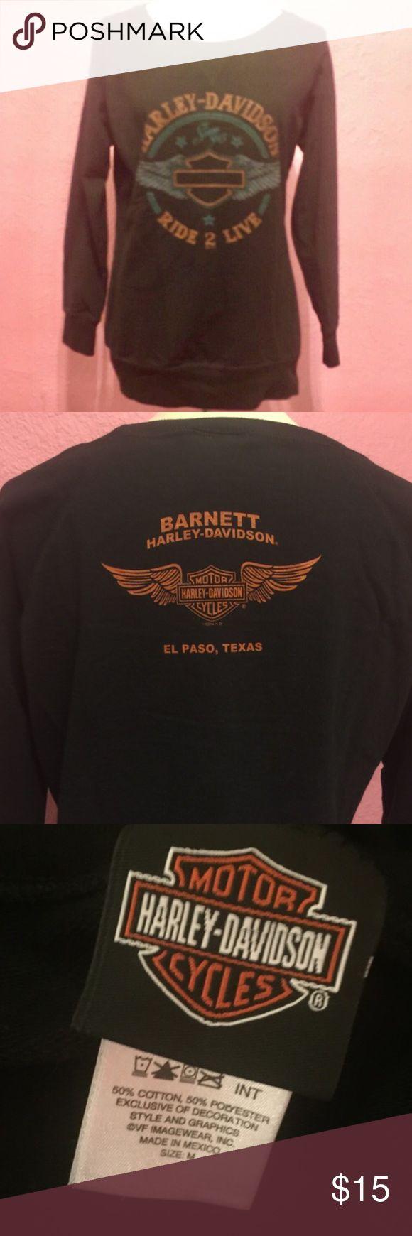 Harley Davidson shirt. El Paso Harley Davidson shirt Harley-Davidson Tops Sweatshirts & Hoodies