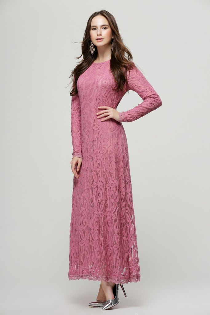 Exclusive lace dress 86076 ,Orchid $35
