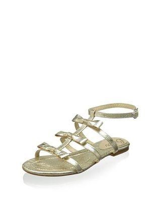 50% OFF Butter Women's Amaze Gladiator Flat Sandal (Platino)