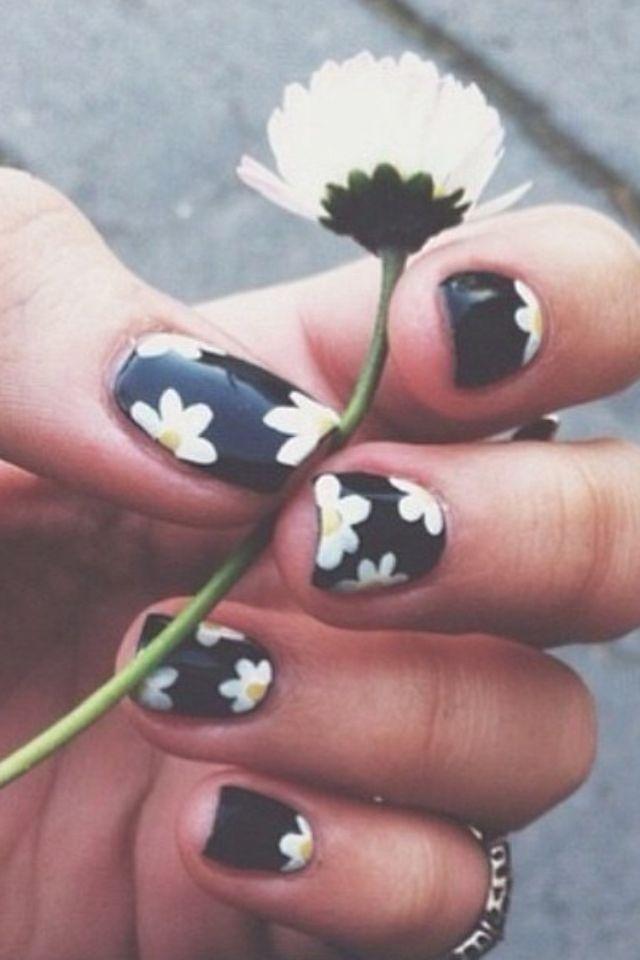 25+ best ideas about Daisy Nails on Pinterest | Daisy nail art ...