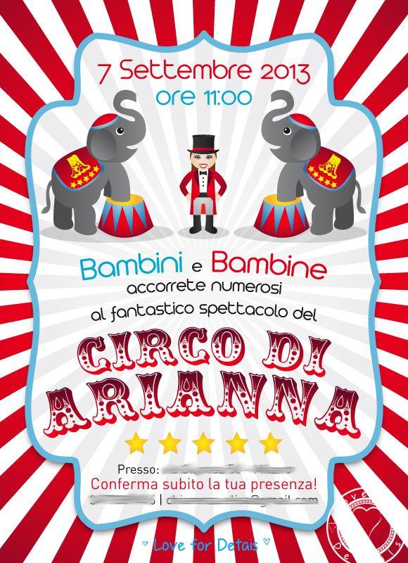 FESTA DI COMPLEANNO A TEMA CIRCO (i preparativi) - A CIRCUS THEMED BIRTHDAY PARTY (part 1)by Love4Details