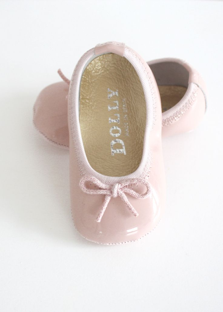 DOLLY by Le Petit Tom ® BABY BALLERINA'S pink patent