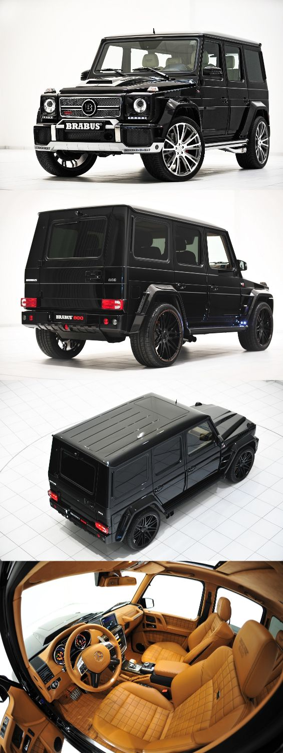 Brabus Widestar | Now this is the only box type car I would drive such style