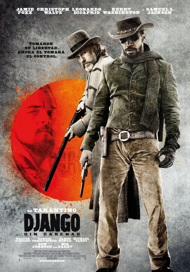 Django Unchained de Quentin Tarantino (2012)