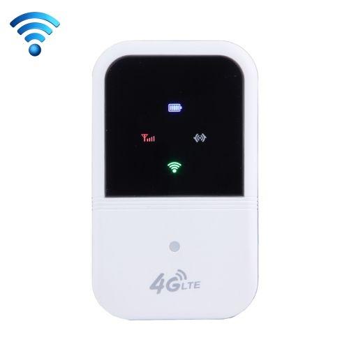 [$35.11] 3G/4G WiFi Wireless Mobile WiFi Router(White)