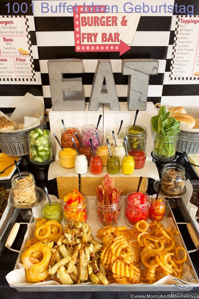 Kaltes Buffet Ideen Geburtstag Party Food Bars Graduation Party