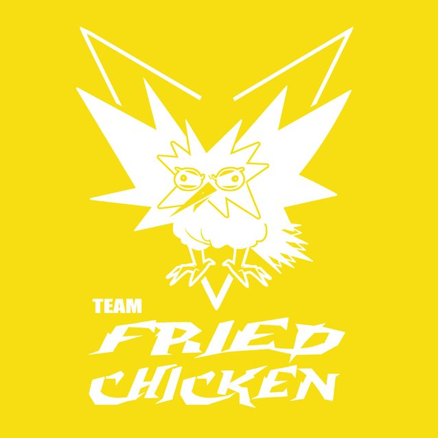 Go+hard+or+Go+home. Show+off+your+team+spirit+with+the Fried+Chicken+shirt!  ***SHIRTS+WILL+BE+AVAILABLE+AFTER+AUG+16th***  100%+cotton Machine+washable Unisex+sizing
