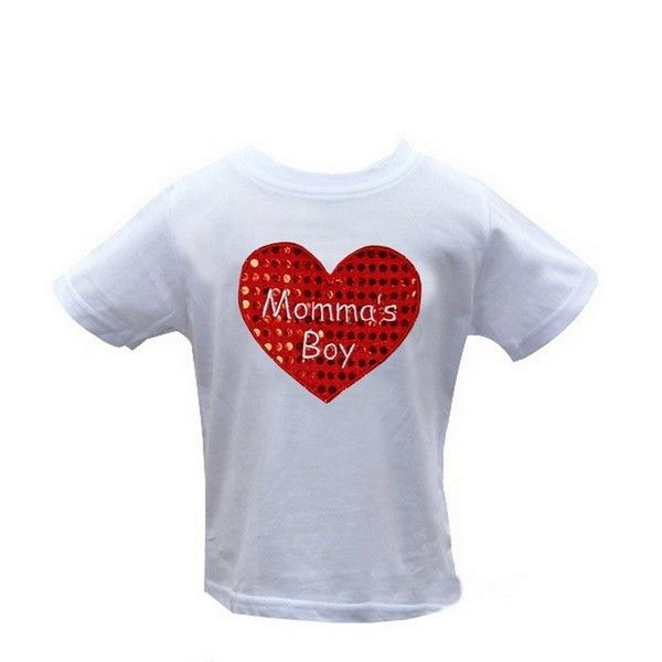 MOMMA'S BOY TODDLER TEE Price: $24.99, Free Shipping Options: 1/2T, 3/4T, 5/7 click to purchase