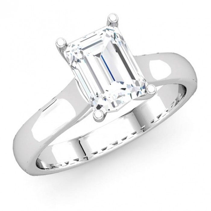 Stunning Classic Solitaire Diamond Engagement Ring Buying cheap engagement rings under is a good choice