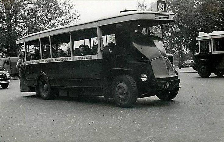 Grèves du Métro ! prenez le bus !Ces bus étaient géniaux ! Surtout ceux avec la plateforme derrière.