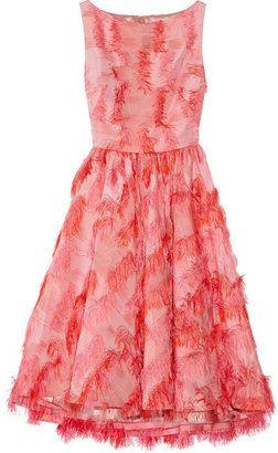 Farb-und Stilberatung mit www.farben-reich.com - Lela Rose Fringed jacquard dress - ShopStyle