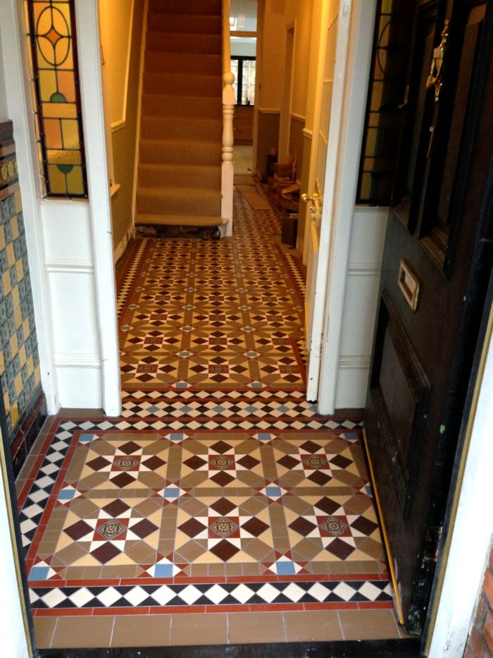 62 Best Victorian Hall Tiles Home Images On Pinterest Tiles Flooring And Flooring Tiles