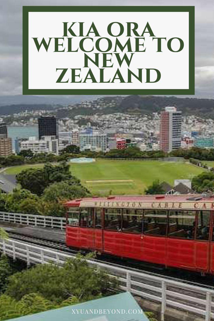 Kia Ora Welcome to New Zealand via @https://www.pinterest.com/xyuandbeyond/