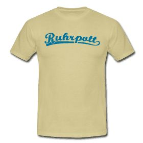 Ruhrpott T-Shirt Retroschrift