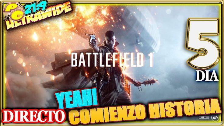 BATTLEFIELD 1 #5 COMIENZO HISTORIA Gameplay Español 21:9 + ZOMBIE VIKINGS
