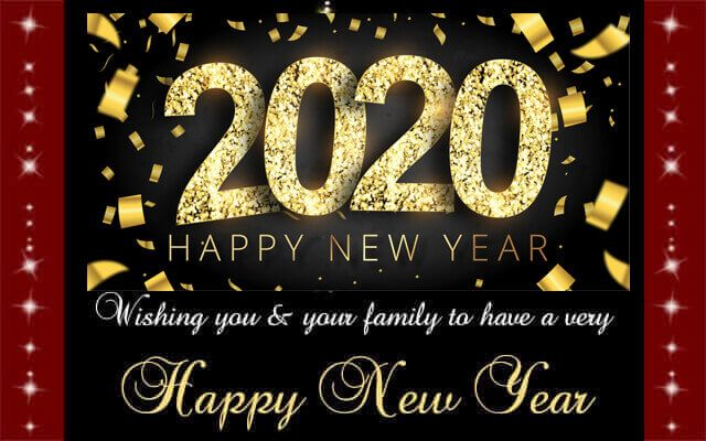 Best New Year Greeting Card 2020 New Year Wishes Happy New Year Greetings Happy New Year Cards