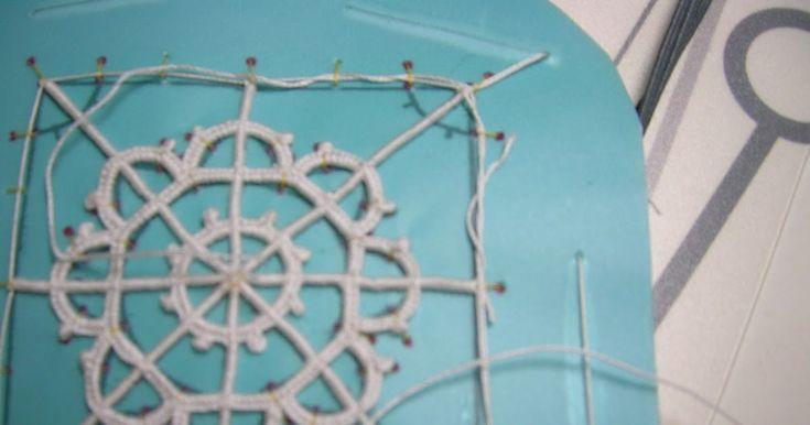Dentelles d'abord: Tutorial: merletto ad ago geometrico (Reticella) parte quinta