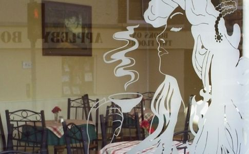 coffee shop window - Google Search