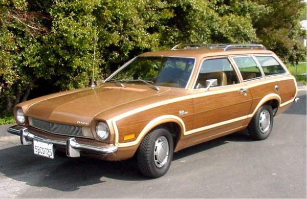 1972 Ford Pinto Wagon....the first car I use to drive....borrowed from the parents....lol