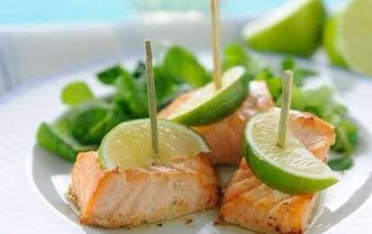 Bocconcini di salmone al lime - I bocconcini di salmone al lime sono un antipasto davvero buonissimo, li potete servire come antipasto per un'occasione speciale oppure come secondo piatto a patto di raddoppiare le dosi o dimezzare il numero delle persone.