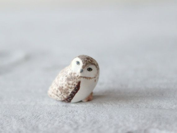 Whoo doesn't love owls? :: Baby Burrowing owl The Totem Nursery by HandyMaiden on Etsy, $40.00