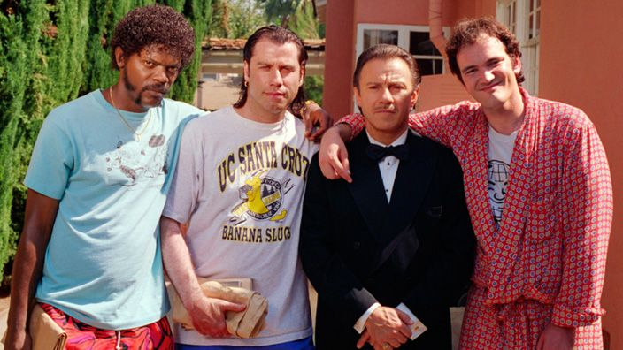 Two decades have passed since Honey Bunny loved Pumpkin and Vincent and Mia did their dance. Zed's still dead but Pulp Fiction remains as lively as ever.