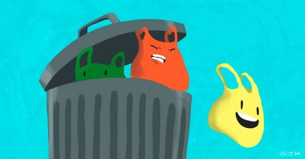 Necesitamos más bolsas plásticas (fuera de nuestro basurero)
