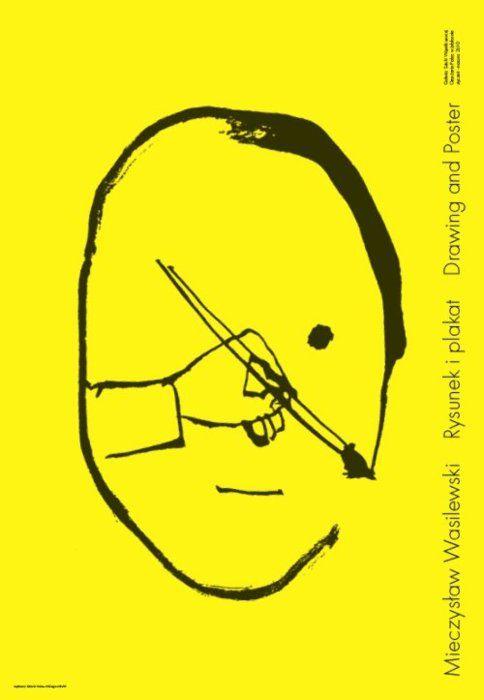 Exhibition poster by Mieczyslaw Wasilewski