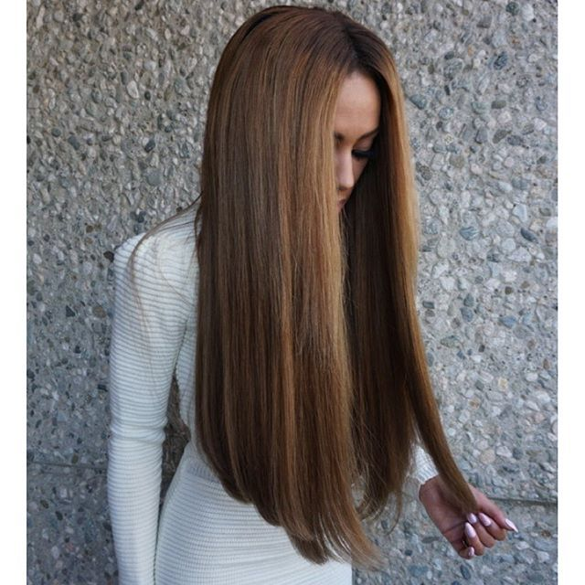 1000 Ideas About One Length Haircuts On Pinterest Long