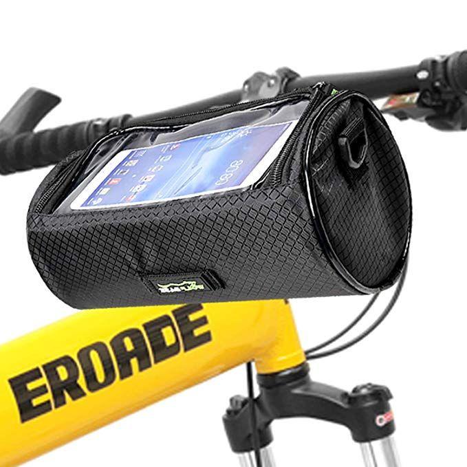 Bike Handlebar Bag Waterproof Front Bag Bicycle Storage Bag With