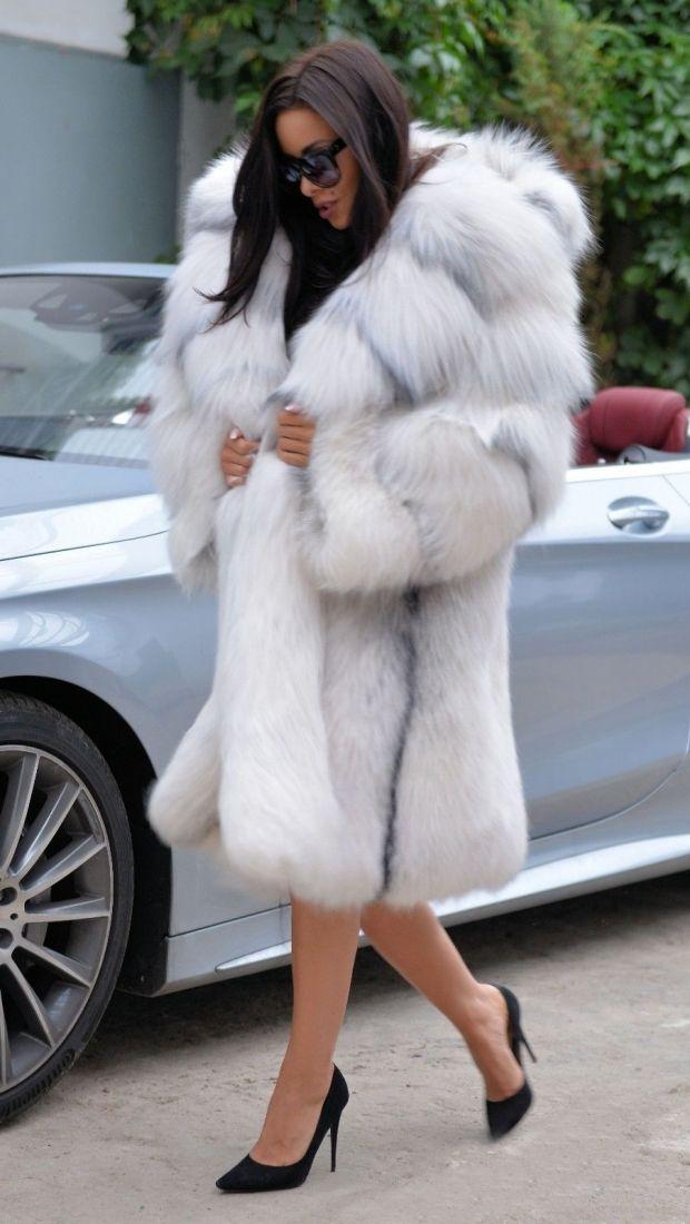 fox furs - exclusive royal saga fox fur - fantastic fur coat fox