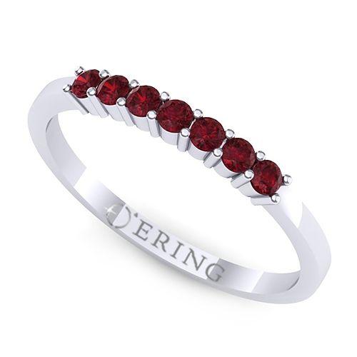 Inel logodna L108ARB inel cu rubin