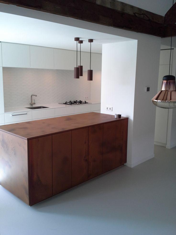 Keuken woonhuis Amsterdam Zuid - door David Interieurbouw.