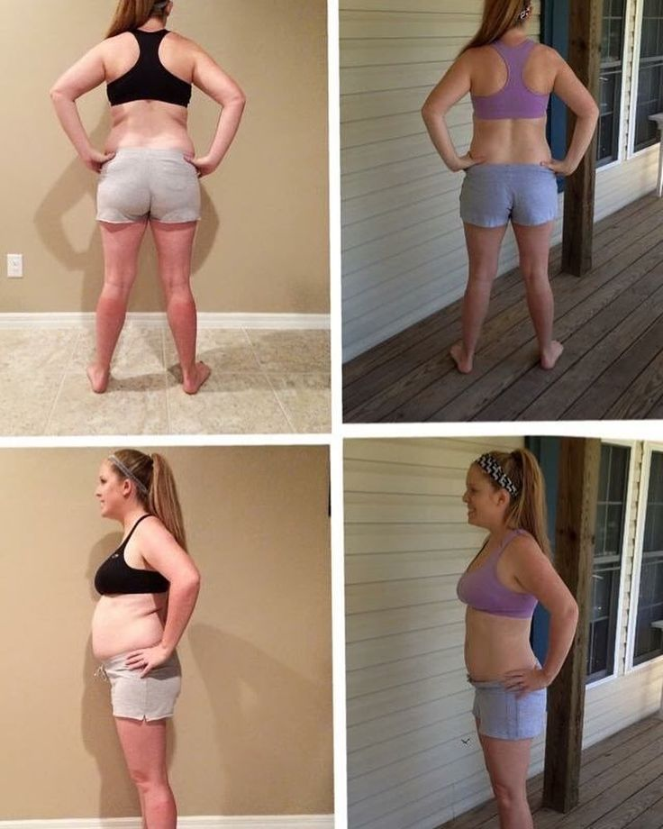 """WHOA!!!  #throwbackthursday . . I found this picture last night while I was scrolling back through my feed looking for one of my old recipes. This was my very first transformation pic  The time between the picture on the left and the picture on the right was exactly 3 weeks. . . I had just completed my first round of 21 day fix and I was ridiculously nervous to post my results pictures. I remember @stevo_mizesko encouraging me to post them and feeling some serious anxiety as I hit the """"post""""…"""