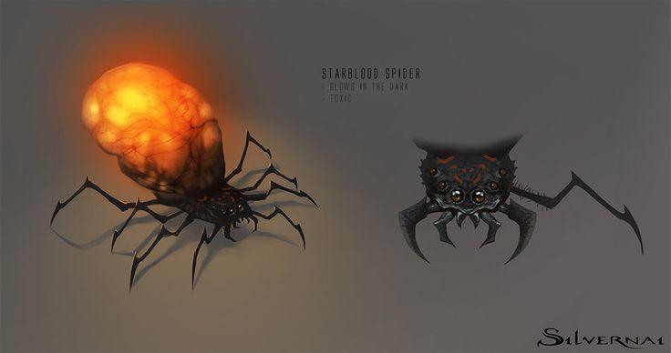 Silvernai: starblood spider by telthona.deviantart.com on @DeviantArt