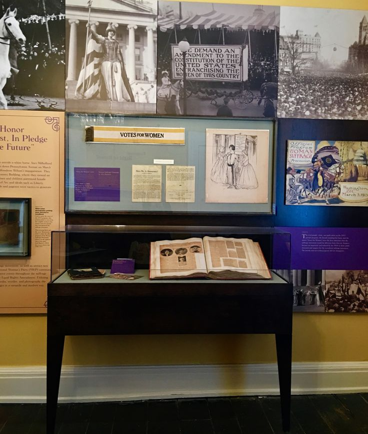 Exhibits at the Sewall-Belmont House and Museum honor the women who fought tirelessly for the right to vote and equal rights.